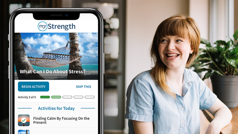myStrength Screenshot