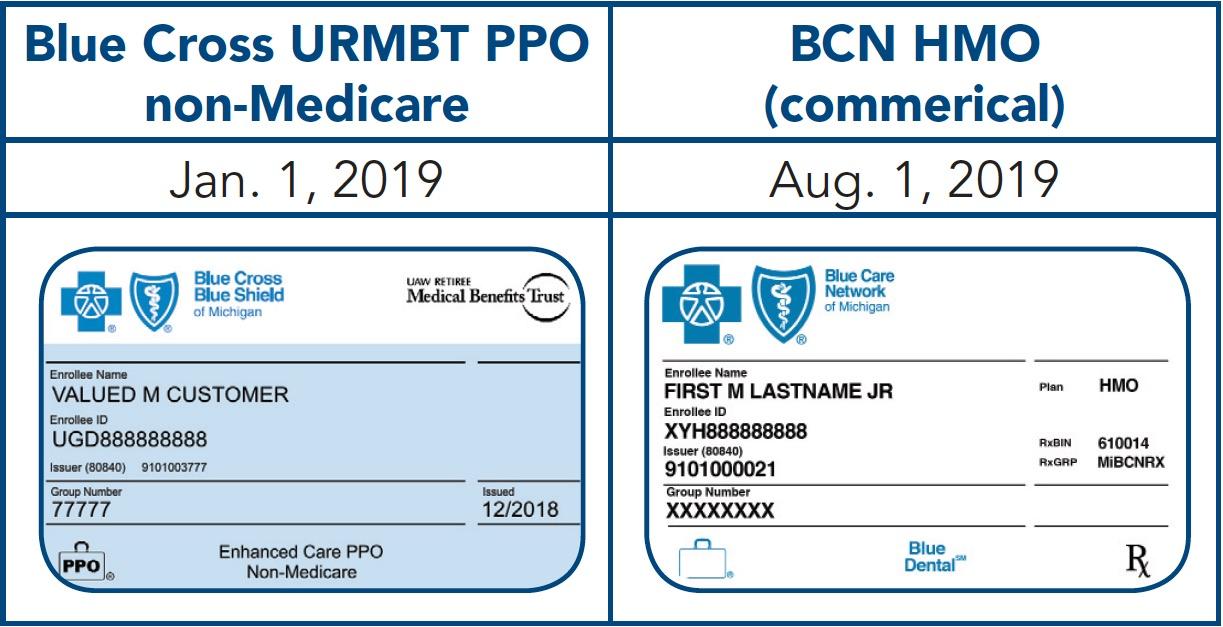 Membership ID examples