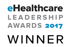 eHealthcare Leadership Awards 2017 Winner