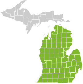 You can buy this plan if you live in any of the 68 counties in Michigan's Lower Peninsula.