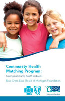 Community health matching grant program