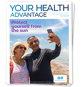 Your Health Advantage Spring 2021 magazine cover