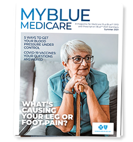 MyBlue Medicare Fall magazine cover