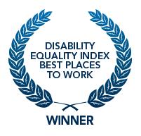 Disabiliy Equality Index best places to work winner