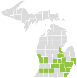 This Michigan HMO health plan is available to residents of 19 Michigan counties. With the Blue Cross Select Network, your primary care physician can refer you to hospitals and specialists in 73 counties.